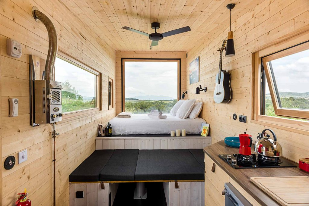 Interieur tiny house stendhal