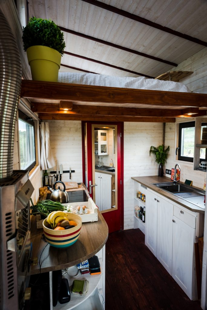 Interieur d'une Tiny house