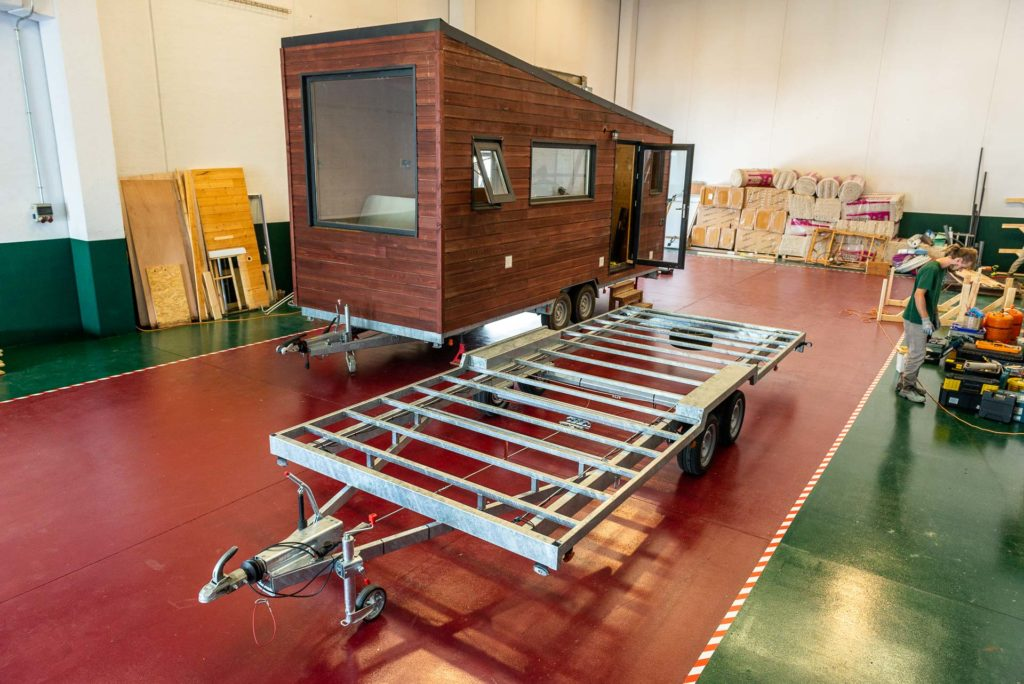 Atelier construction Tiny houses