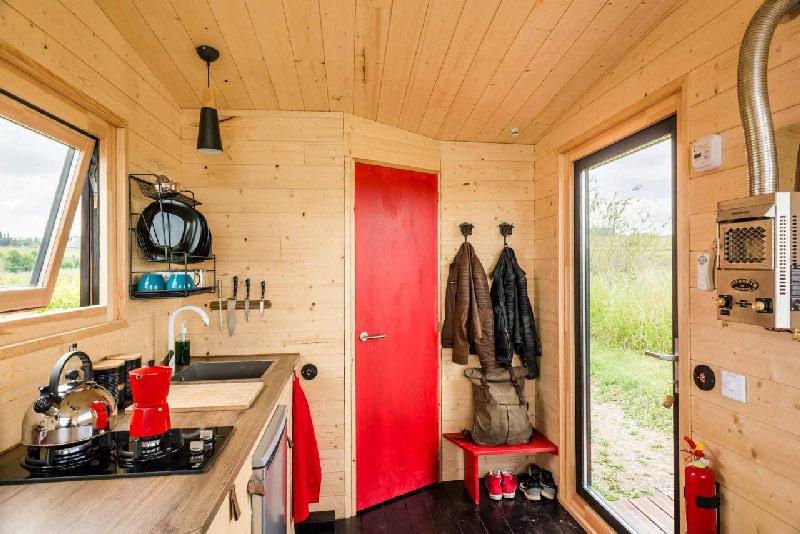 interieur cuisine Tiny house
