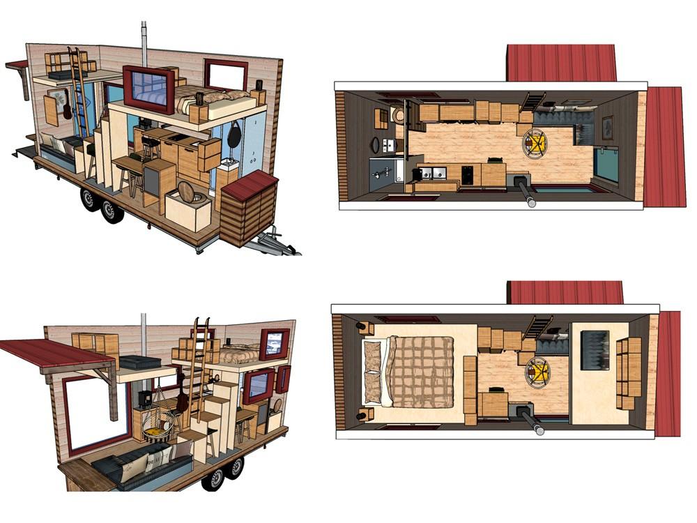 diseño mini casa